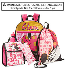 Disney's® Minnie Mouse 5-Pc. Backpack & Accessories Set, Little & Big Girls