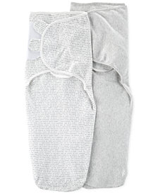 Carter's Baby Boys or Girls 2-Pack Swaddle Blankets