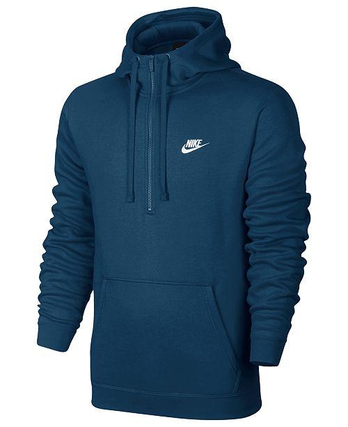 Nike Men's Half Zip Hoodie & Reviews Hoodies