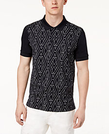 A|X Armani Exchange Men's Geometric Polo