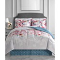 Fairfield Square Collection Anna 6-Pc. Reversible Twin Comforter Set