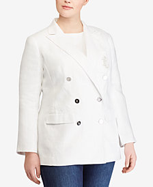 Lauren Ralph Lauren Plus Size Slim Fit Jacket