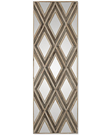 Uttermost Tahira Geometric Argyle-Patterned Wall Mirror