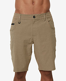 "O'Neill Men's Traveler Transfer Textured Hybrid 20"" Shorts"
