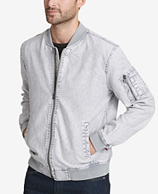 Levi's® Men's Acid Wash Bomber Jacket