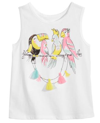 Toddler Girls Tassel-Trim Tank Top, Created for Macy's