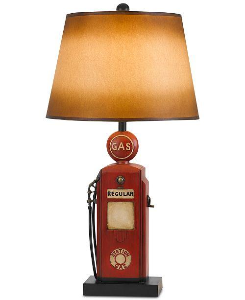 Cal Lighting Gas Pump Table Lamp