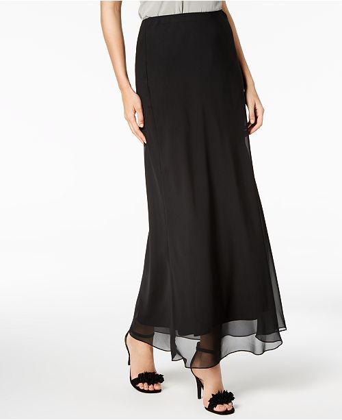 Alex Evenings Floor-Length Skirt