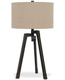 Angled Tripod Table Lamp