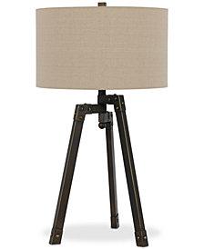 Cal Lighting Angled Tripod Table Lamp
