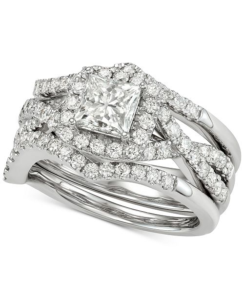 Centennial Diamond 3Pc. Bridal Set (2-1/4 ct. t.w.) in 14k White Gold