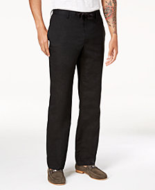 I.N.C. Men's Linen Drawstring Pants, Created for Macy's