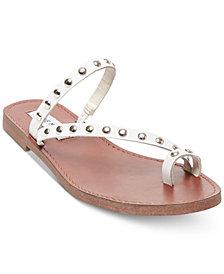 Steve Madden Women's Daria Studded Flat Sandals
