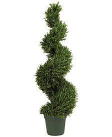 Nearly Natural 4' Rosemary Indoor/Outdoor Artificial Tree