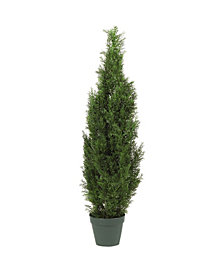 Nearly Natural 4' Cedar Indoor/Outdoor Artificial Tree
