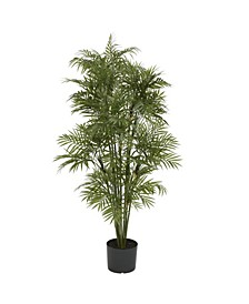4' Artificial Plastic Parlour Palm Tree