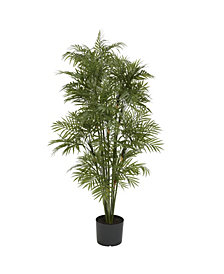 Nearly Natural 4' Artificial Plastic Parlour Palm Tree