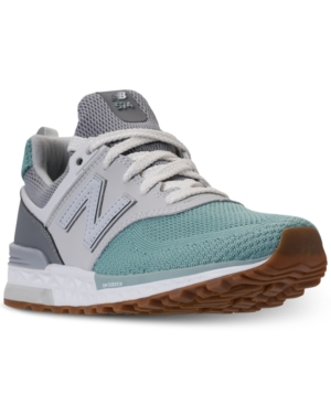 New Balance Big Girls 574 Sport Casual Sneakers from Finish Line