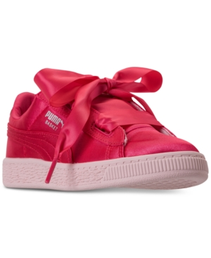 Puma Little Girls' Basket...