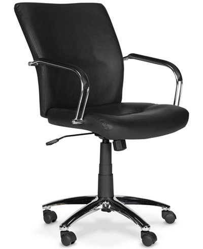 Reynell Swivel Office Chair, Quick Ship