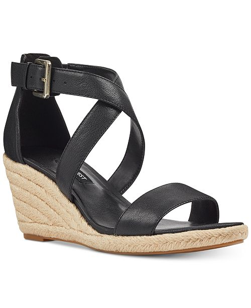 bd06c949a2 Nine West Jorgapeach Wedge Sandals & Reviews - Sandals & Flip Flops ...