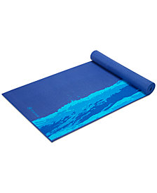 Gaiam Oceanscape Printed 5mm Yoga Mat