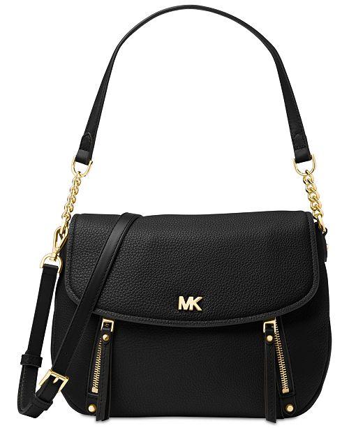 7ea15794c48 Evie Pebble Leather Shoulder Bag