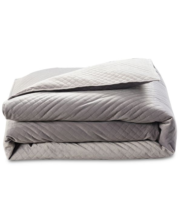 BlanQuil Quilted 15lb Weighted Blanket