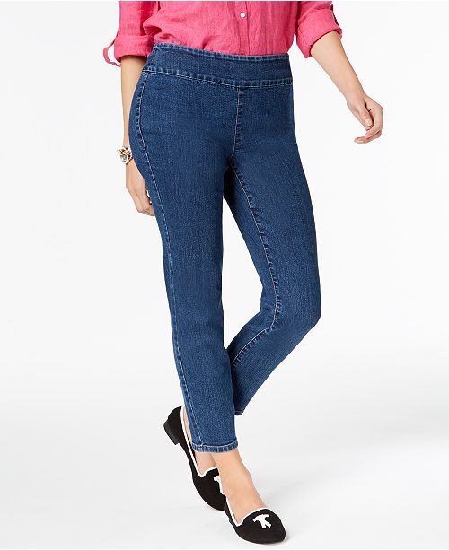 5e7016706402 Charter Club Cambridge Pull-On Skinny Ankle Jeans