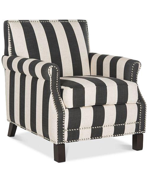 Safavieh Benson Accent Chair, Quick Ship