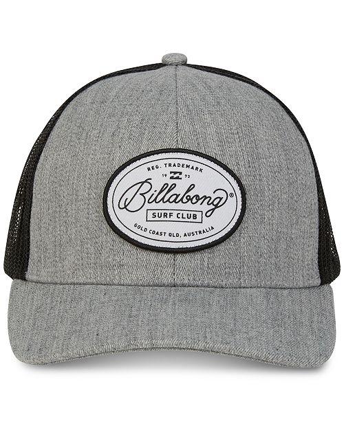 low priced d3913 ca2bd Billabong Men s Walled Trucker Hat  Billabong Men s Walled Trucker ...