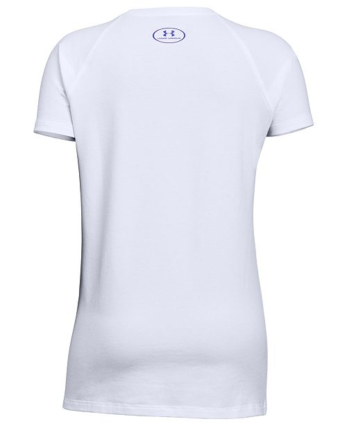 9a0445bae Under Armour Big Girls Dance-Print T-Shirt   Reviews - Shirts   Tees ...