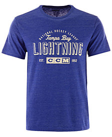 CCM Men's Tampa Bay Lightning Speed Zone T-Shirt