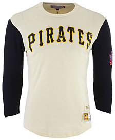 Mitchell & Ness Men's Pittsburgh Pirates Wild Pitch Raglan T-Shirt
