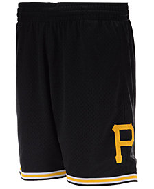 Mitchell & Ness Men's Pittsburgh Pirates Swing Shorts