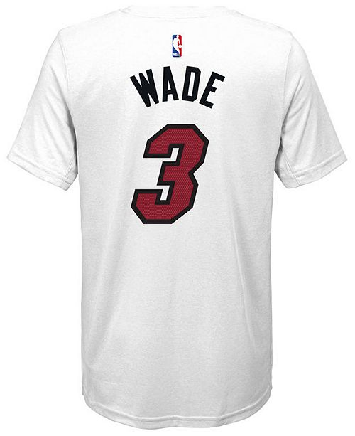 ... Nike Dwyane Wade Miami Heat Icon Name and Number T-Shirt 4d814e465