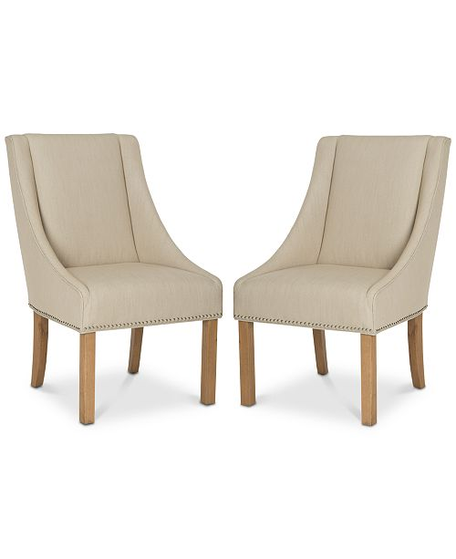 Furniture Colman Dining Chair (Set Of 2), Quick Ship