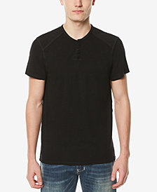 Buffalo David Bitton Men's Solid Henley