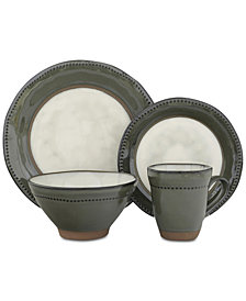 Sango Centrics Jade 16-Pc. Dinnerware Set