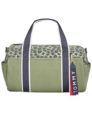 CLASSIC TOMMY FLORAL DUFFLE