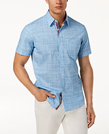 Con.Struct Men's Chambray Shirt, Created for Macy's