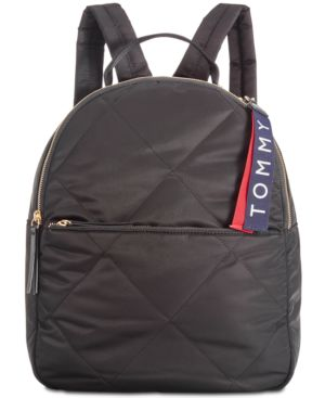 KENSINGTON QUILTED NYLON BACKPACK