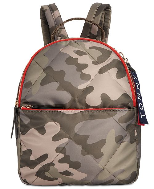3aa6e1c28a Tommy Hilfiger Kensington Quilted Nylon Backpack   Reviews ...