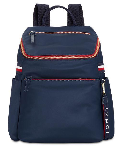 dc77eed539 Tommy Hilfiger Annada Nylon Backpack; Tommy Hilfiger Annada Nylon Backpack  ...