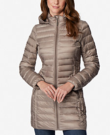 32 Degrees Hooded Packable Down Puffer Coat