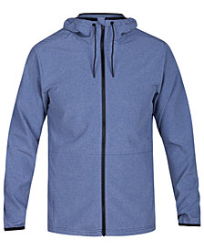 Hurley Men's Protect Stretch 2.0 Full-Zip Hooded Jacket