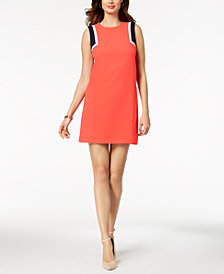 Jessica Howard Petite Colorblocked Sheath Dress