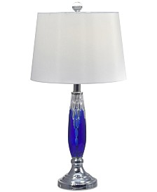 Dale Tiffany Blue Marble II Table Lamp