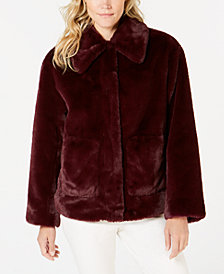 Trina Turk Faux-Fur Coat