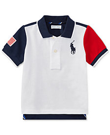 Ralph Lauren Cotton Polo Shirt, Baby Boys